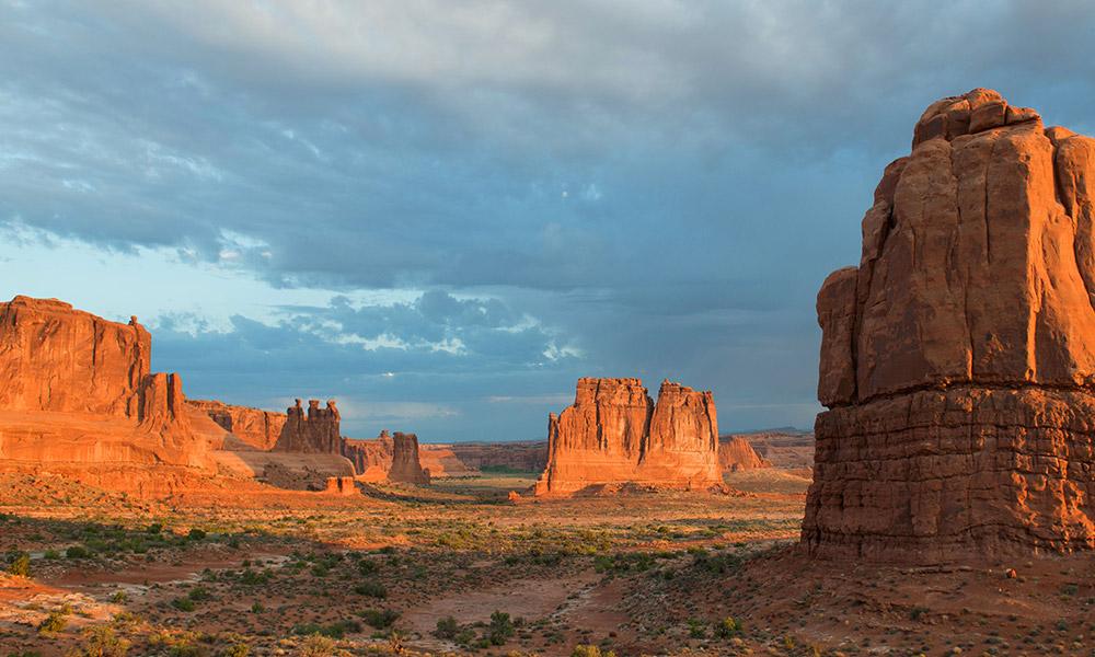 Arches National Park near Moab, Utah. Image credit: Chris Wonderly